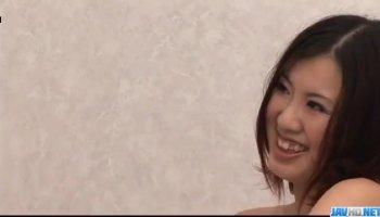 Hinata Tachibana in sexy lingerie legs spread wide