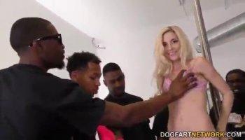 Alexa Aimes is ridding her boyfriends huge dick