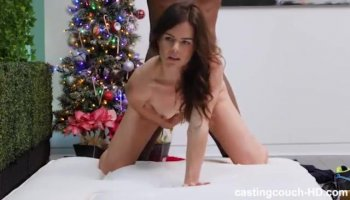 Lacey Lay takes BBC in her pussy