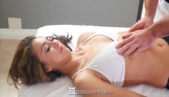 Slow pussy play Christianne 40 years old